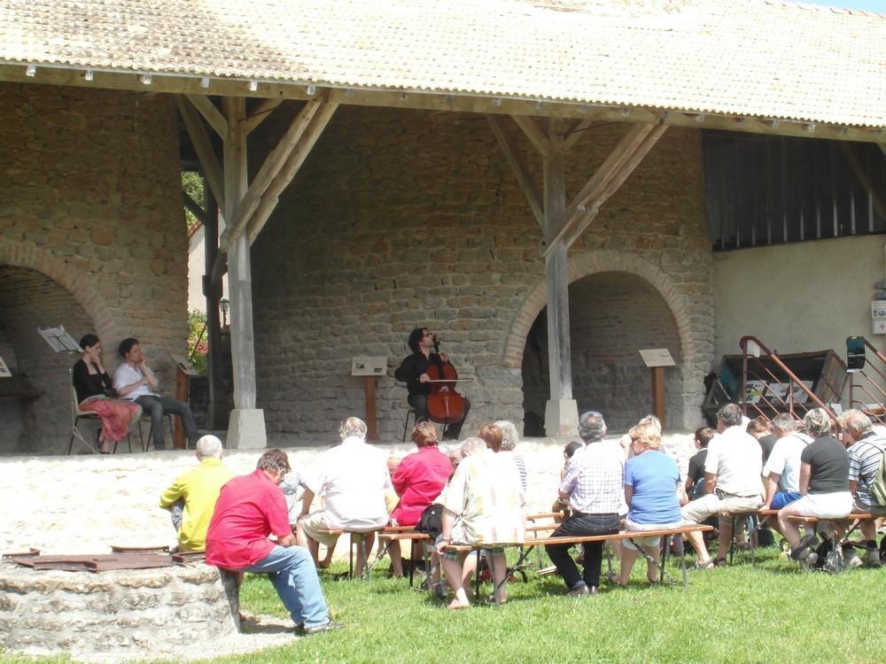 Festival Musique en Brionnais aux Fours à chaux 2012